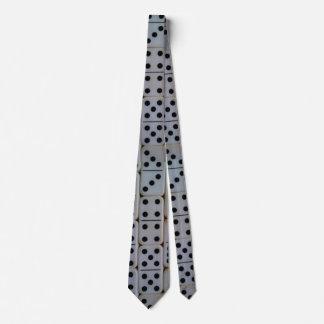 Dominos pattern tie