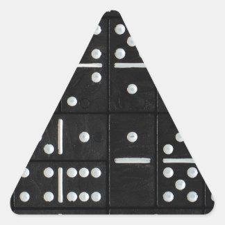 Dominós Pegatina Triangular