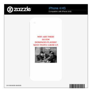 DOMINÓS SKINS PARA eliPhone 4