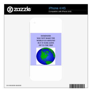 DOMINÓS SKINS PARA iPhone 4S
