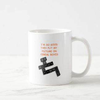 dominós taza