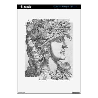 Domitian Caesar (51-96 AD), 1596 (engraving) iPad 3 Decal