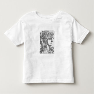 Domitian Caesar (51-96 AD), 1596 (engraving) Toddler T-shirt