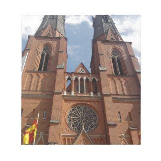 Domkyrka de Uppsala Bloc De Papel