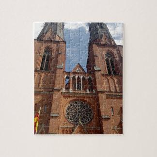 Domkyrka de Uppsala Puzzle Con Fotos