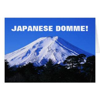 ¡DOMME JAPONÉS! TARJETA DE FELICITACIÓN