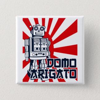 Domo Arigato Button
