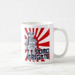 Domo Arigato Classic White Coffee Mug