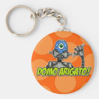 domo arigato (mr. roboto) keychain