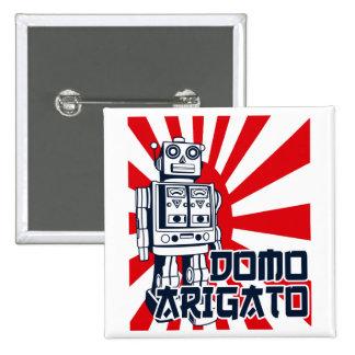 Domo Arigato Pin Cuadrada 5 Cm