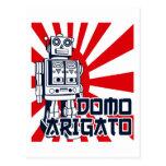 Domo Arigato Post Card