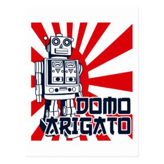 Domo Arigato Postcard