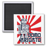Domo Arigato Refrigerator Magnet
