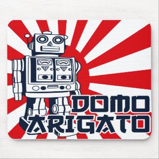 Domo Arigato Alfombrilla De Ratón