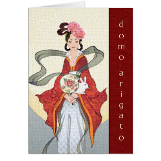 Domo Arigato (Thank you very much) Card