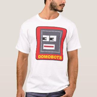 Domobots Metal Bot Logo T-Shirt