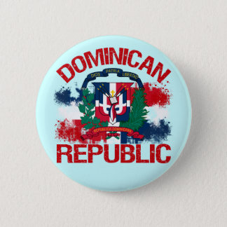 Domonican Republic Pinback Button