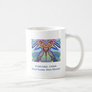 DOMUHAA  CHAAL - Blood Sucker Alien Monster Classic White Coffee Mug