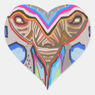 DOMUHAA  CHAAL - Blood Sucker Alien Monster Heart Sticker