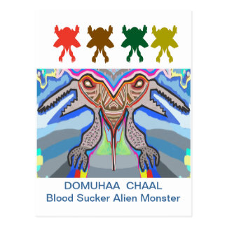DOMUHAA CHAAL - Monstruo del extranjero del lechón Postales