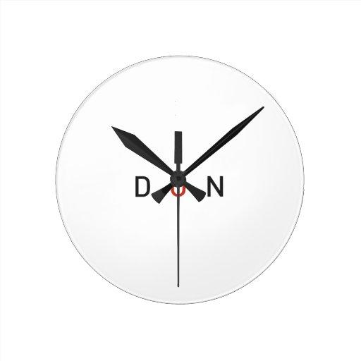DON.ai Reloj Redondo Mediano