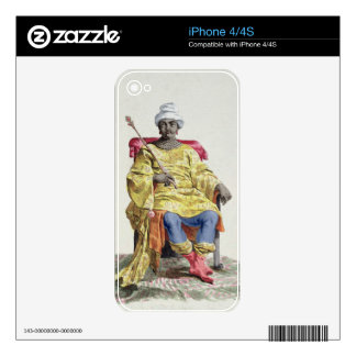 Don Alvares, King of the Congo, from 'Receuil des Skin For iPhone 4S