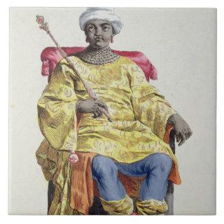 Don Alvares, rey del Congo, del 'DES de Receuil Azulejo Cuadrado Grande