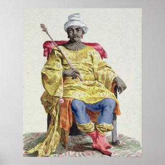 Don Alvares, rey del Congo, del 'DES de Receuil Póster