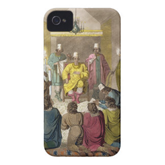 Don Alvaro, King of the Congolese on his Throne, p iPhone 4 Cases