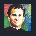 """Don Bosco portrait Canvas Print<br><div class=""""desc"""">Don Bosco portrait</div>"""