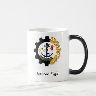 Don Bosco Technical Institute school logo 11 Oz Magic Heat Color-Changing Coffee Mug