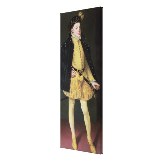 Don Carlos , son of King Philip II of Spain Canvas Print