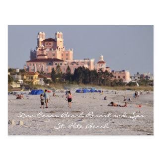 Don Cesar - el castillo rosado de la Florida Tarjetas Postales