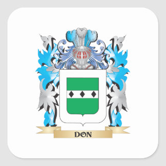 Don Coat of Arms - Family Crest Stickers