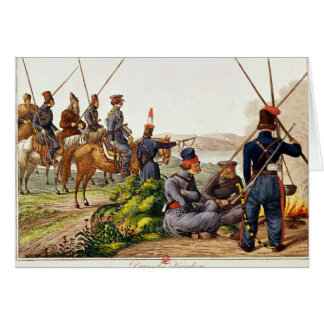 Don Cossacks in 1814 Card