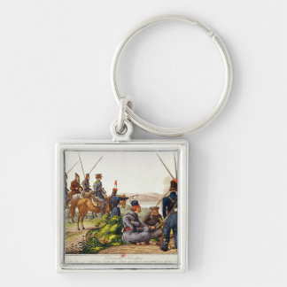Don Cossacks in 1814 Keychain