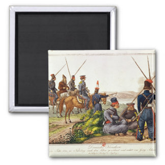 Don Cossacks in 1814 Magnet