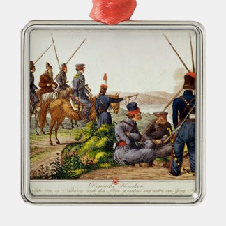 Don Cossacks in 1814 Metal Ornament