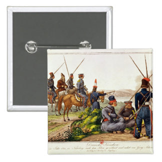 Don Cossacks in 1814 Pinback Button