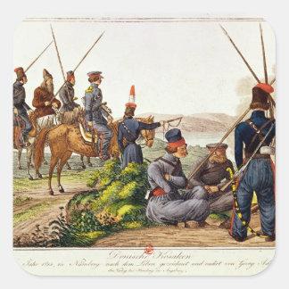 Don Cossacks in 1814 Square Sticker