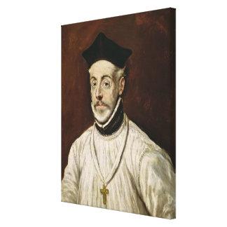 Don Diego de Covarrubias y Leiva  c.1600-05 Canvas Print