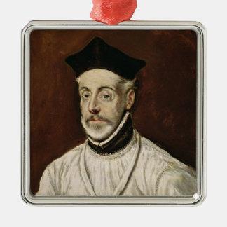 Don Diego de Covarrubias y Leiva  c.1600-05 Metal Ornament