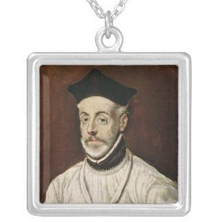 Don Diego de Covarrubias y Leiva  c.1600-05 Silver Plated Necklace