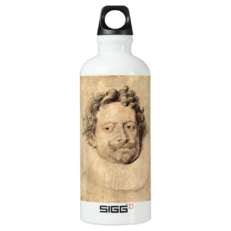 Don Diego Messia by Paul Rubens Aluminum Water Bottle