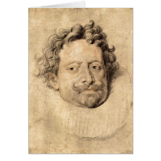 Don Diego Messia by Paul Rubens Greeting Card