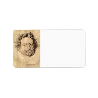 Don Diego Messia by Paul Rubens Personalized Address Label