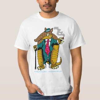 Don Dillo Cortado - Armadillo Mob Boss! T-Shirt