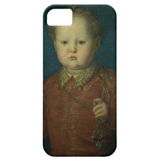 Don García de Medici (?) c.1550 (aceite en el pane iPhone 5 Case-Mate Cárcasas