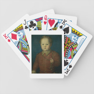 Don Garcia de Medici (?) c.1550 (oil on panel) Bicycle Playing Cards