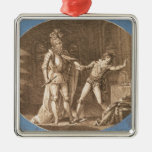 Don Giovanni and the statue of the Commandantore Metal Ornament